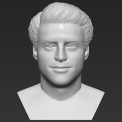 1.jpg Download STL file Joey Tribbiani from Friends bust 3D printing ready stl obj formats • 3D print design, PrintedReality