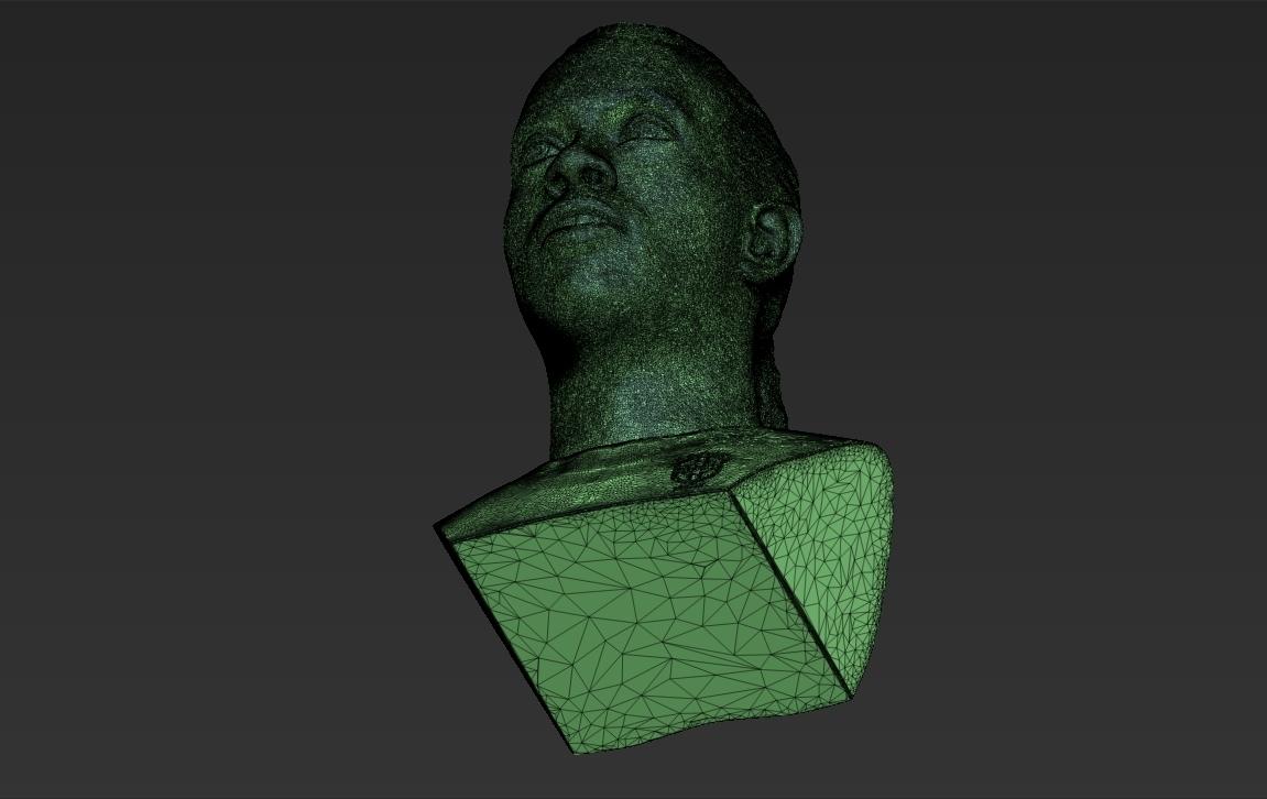 36.jpg Download STL file Ronaldinho bust ready for full color 3D printing • 3D print model, PrintedReality
