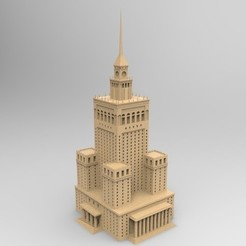 Bez_nazwy-3_display_large.jpg Download STL file The Palace of Culture and Science - Warsaw, Poland • Design to 3D print, PrintedReality