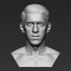 Télécharger fichier STL Michael Phelps bust 3D impression 3D prêt à l'impression stl formats obj, PrintedReality