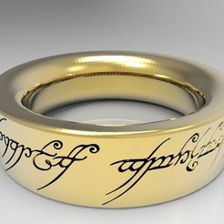 Bez_nazwy-5_display_large.jpg Download STL file Sauron's Ring - The Lord of the Rings • Template to 3D print, PrintedReality
