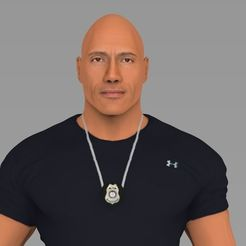 dwayne-johnson-fast-and-furious-ready-for-full-color-3d-printing-3d-model-obj-stl-wrl-wrz-mtl.jpg Download STL file Dwayne The Rock Johnson Fast and Furious ready for full color 3D printing • Design to 3D print, PrintedReality