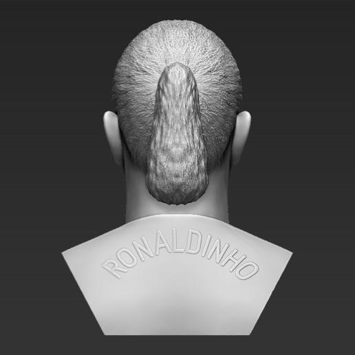 6.jpg Download STL file Ronaldinho bust ready for full color 3D printing • 3D print model, PrintedReality