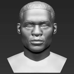 1.jpg Download STL file Russel Westbrook bust 3D printing ready stl obj • Design to 3D print, PrintedReality