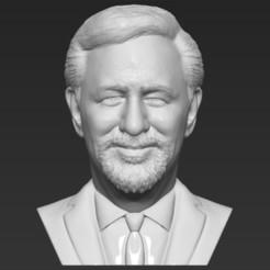 1.jpg Download STL file Steven Spielberg bust 3D printing ready stl obj formats • 3D printer model, PrintedReality