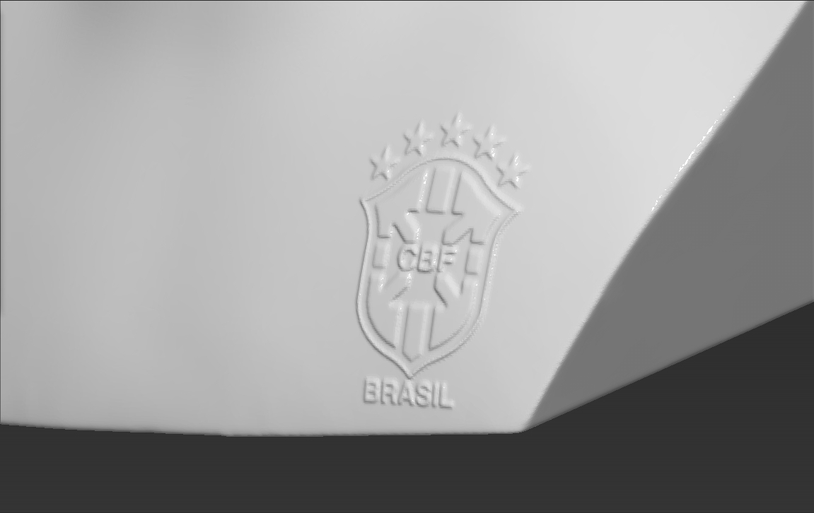19.jpg Download STL file Ronaldo Nazario Brazil bust 3D printing ready stl obj formats • Template to 3D print, PrintedReality