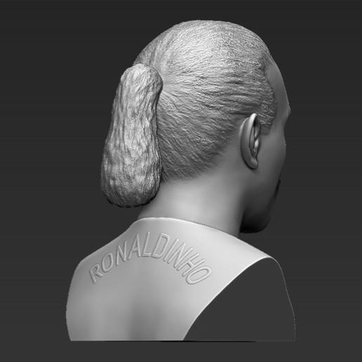7.jpg Download STL file Ronaldinho bust ready for full color 3D printing • 3D print model, PrintedReality