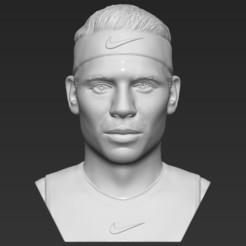 1.jpg Télécharger fichier STL Rafael Nadal a arrêté l'impression 3D des formats stl obj prêts • Objet pour imprimante 3D, PrintedReality