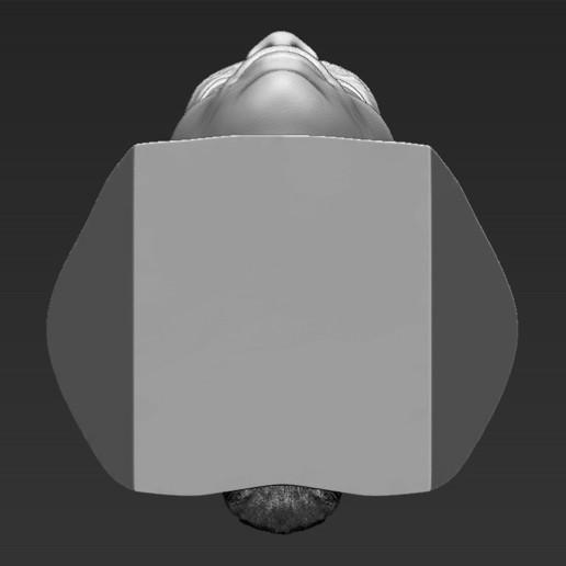 23.jpg Download STL file Ronaldinho bust ready for full color 3D printing • 3D print model, PrintedReality