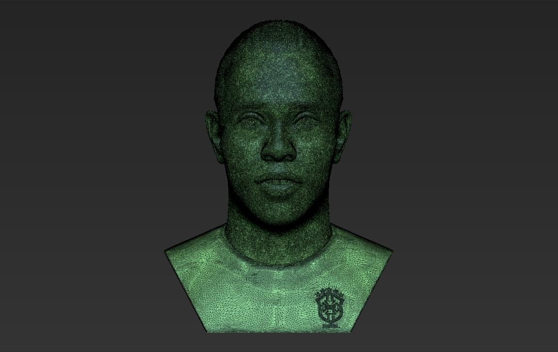 33.jpg Download STL file Ronaldinho bust ready for full color 3D printing • 3D print model, PrintedReality