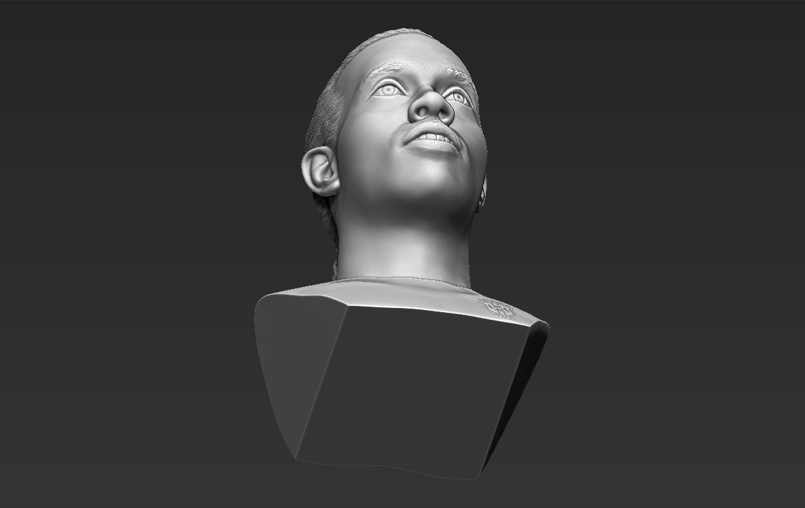 21.jpg Download STL file Ronaldinho bust ready for full color 3D printing • 3D print model, PrintedReality