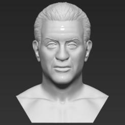 1.jpg Télécharger fichier STL Sylvester Stallone Rocky Balboa buste prêt pour l'impression 3D • Plan à imprimer en 3D, PrintedReality