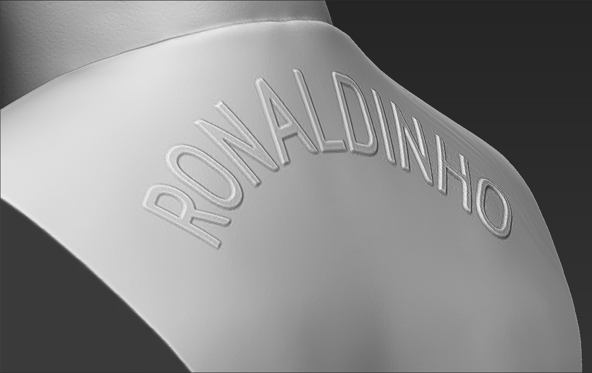 20.jpg Download STL file Ronaldinho bust ready for full color 3D printing • 3D print model, PrintedReality