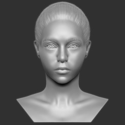 1.jpg Download STL file Beautiful woman bust 3D printing ready TYPE 7 • Design to 3D print, PrintedReality