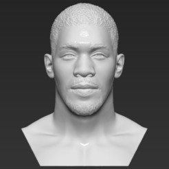 1.jpg Download STL file Anthony Joshua bust 3D printing ready stl obj formats • 3D printing model, PrintedReality