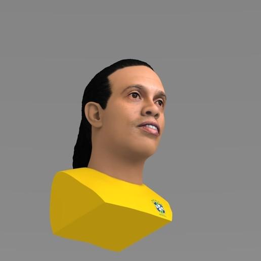 untitled.1690.jpg Download STL file Ronaldinho bust ready for full color 3D printing • 3D print model, PrintedReality