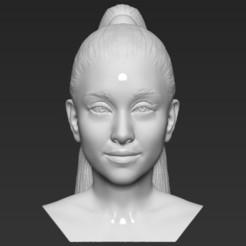 1.jpg Télécharger fichier STL Ariana Grande buste 3D prêt à imprimer formats stl obj • Objet pour impression 3D, PrintedReality