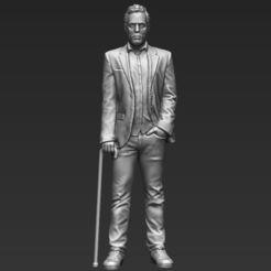 STL file MD Gregory House 3D printing ready stl obj, PrintedReality