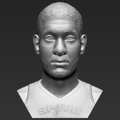 1.jpg Download STL file Tim Duncan bust 3D printing ready stl obj formats • 3D printer design, PrintedReality