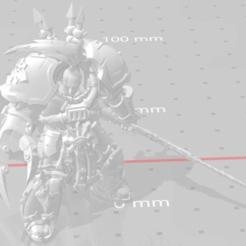 Télécharger fichier OBJ gratuit Warmaster Abaddon • Objet à imprimer en 3D, SchrodyCosp