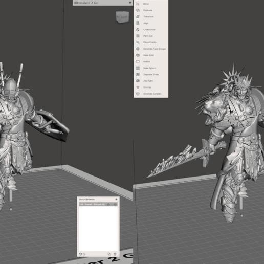 Télécharger fichier OBJ gratuit Lion El'Jonson • Modèle pour imprimante 3D, SchrodyCosp
