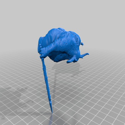 great_uncle.png Download free OBJ file Great unclean one • 3D printing design, SchrodyCosp
