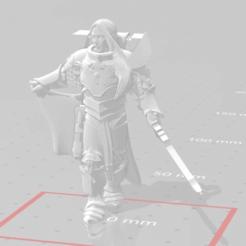 Télécharger fichier OBJ gratuit Fulgrim : Phoenix Remix • Modèle pour impression 3D, SchroCosp