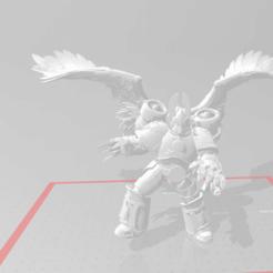 Imprimir en 3D gratis Los ángeles caídos son el demonio del príncipe, SchroCosp