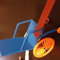 Descargar archivos 3D gratis La silla de ruedas de Barbie, maximebronner