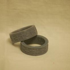Plan imprimante 3D gatuit Bague, Cornbald