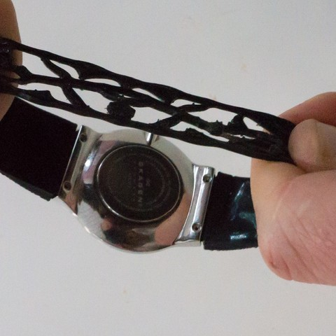20141113-DSC07992_display_large.jpg Download free STL file One-piece Elastic Watch Band • Template to 3D print, Cornbald