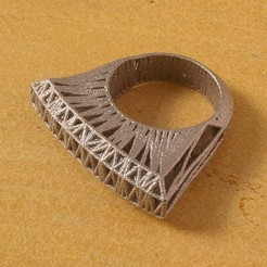 Download free 3D printer model Laos Stutter Ring, Cornbald