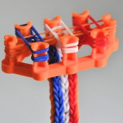 DSC_5398_display_large.jpg Download free STL file Rainbow Loom Monstertail • 3D printable model, Cornbald