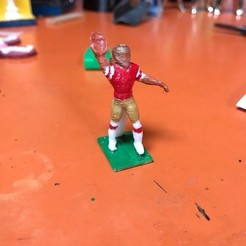 Free STL files Electric football quarterback, Cornbald