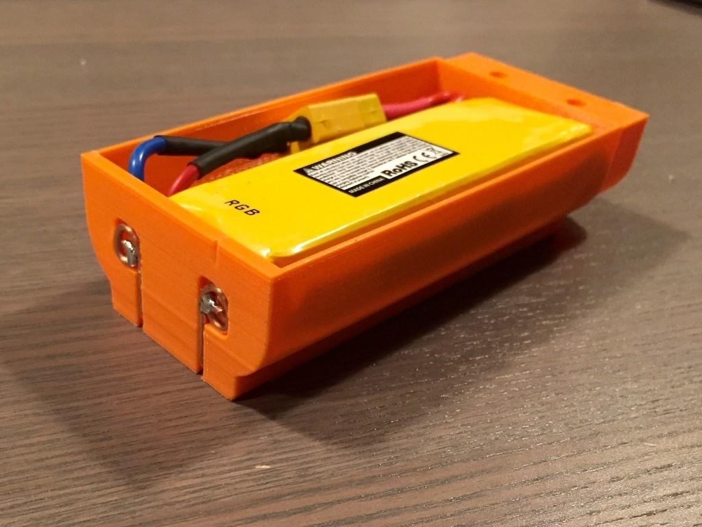 FullSizeRender_2_display_large.jpg Télécharger fichier STL gratuit Nerf Rapidstrike LiPo boîtier de batterie • Modèle pour impression 3D, Cornbald