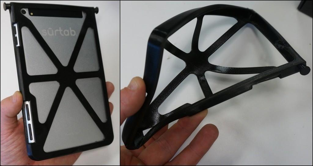 Tablet_case_display_large.jpg Télécharger fichier STL gratuit Étui à comprimés sur mesure • Modèle imprimable en 3D, Cornbald