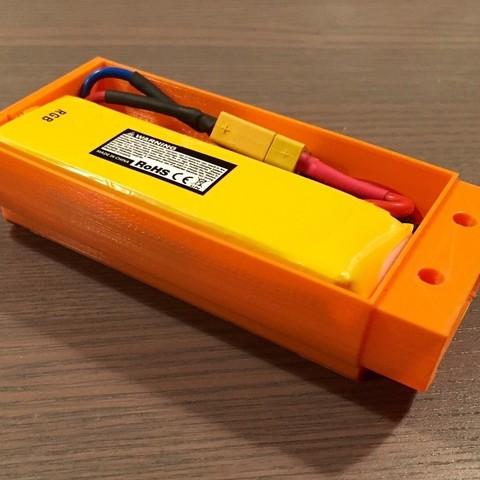 FullSizeRender_4_display_large.jpg Télécharger fichier STL gratuit Nerf Rapidstrike LiPo boîtier de batterie • Modèle pour impression 3D, Cornbald