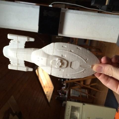 Free STL file Star Trek Voyager, Cornbald