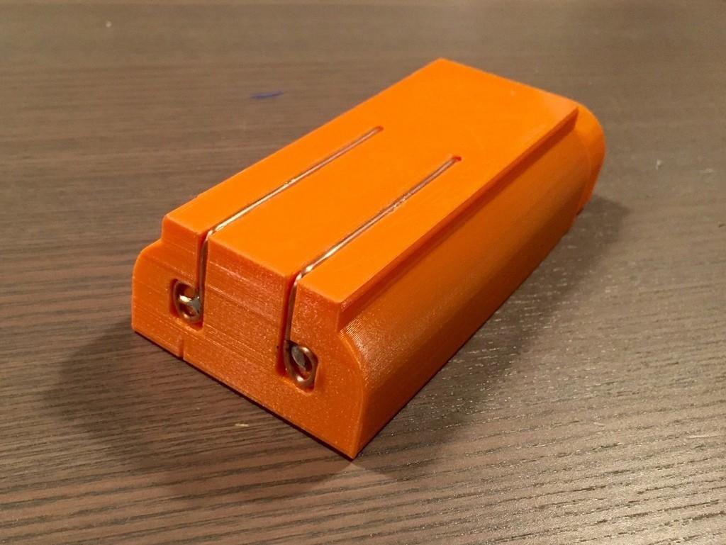 FullSizeRender_3_display_large.jpg Télécharger fichier STL gratuit Nerf Rapidstrike LiPo boîtier de batterie • Modèle pour impression 3D, Cornbald