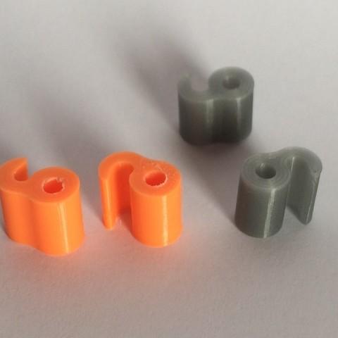 photo_1_display_large.jpg Télécharger fichier STL gratuit Clip de filament • Modèle pour imprimante 3D, Cornbald