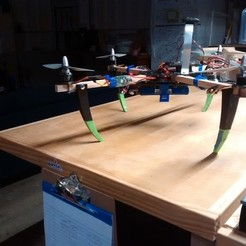 Download free 3D print files Quadcopter landing gear, Cornbald
