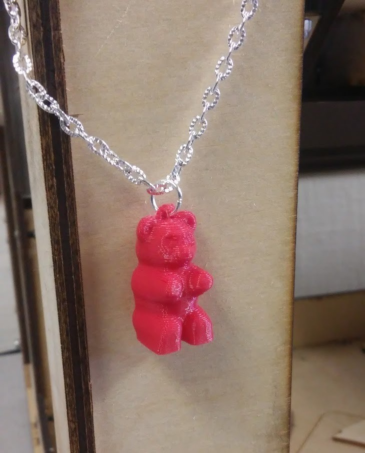3ceaa403012a35993979fb70256d4083_display_large.jpg Download free STL file Gummy Bear Necklace • Object to 3D print, Chanrasp