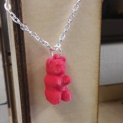 Free 3D printer designs Gummy Bear Necklace, Chanrasp