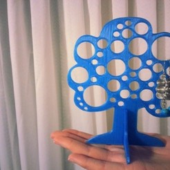 Free 3D printer model Jewelry Tree, Chanrasp