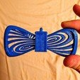 Download free 3D printing files Tardis Button Cover Bowtie, Chanrasp