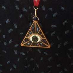 Free 3D model Illuminarti necklace, Khuzural