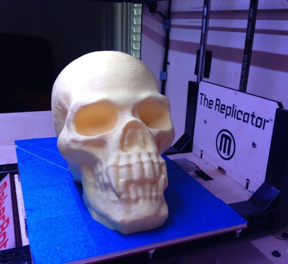 09_skull2_display_large.jpg Download free STL file Skull with Pointed Teeth • 3D printing template, Khuzural