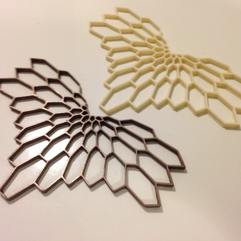 Free 3D model Graphic Necklace - Diamonds, Khuzural