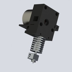 Download free STL files E3D direct geared extruder mount, Khuzural