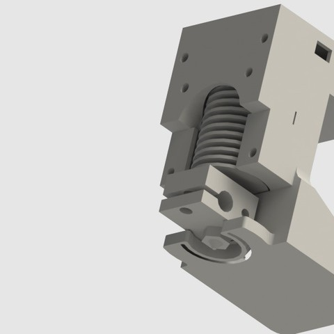 Download free 3D printing files Cyrus V2 Spare; E3D V6 hotend holder, Khuzural